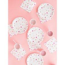 My Little Day Gobelets en carton Cœurs - Lot de 8-listing