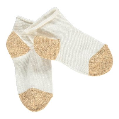 Louis Louise Janet Lurex Two-Tone Socks-listing