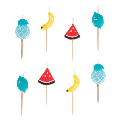 My Little Day Fruit Birthday Candles - Set of 8-listing