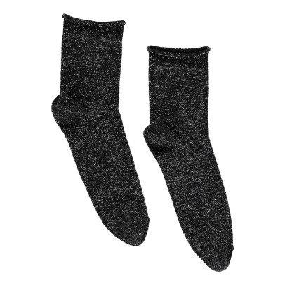 Polder Socken Lurex Pile -listing