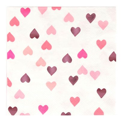 My Little Day Servilletes de papel Corazones - Lote de 16-listing