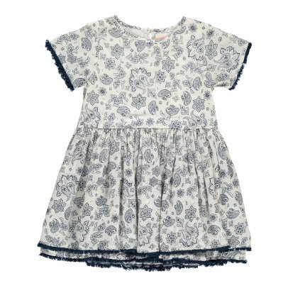 Simple Kids Japan Bandana Print Dress-product