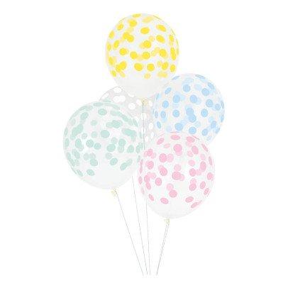 My Little Day Luftballons Konfetti- 5 Stück -listing
