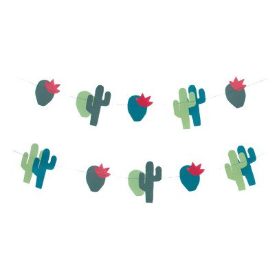 My Little Day Guirlande en papier cactus-listing