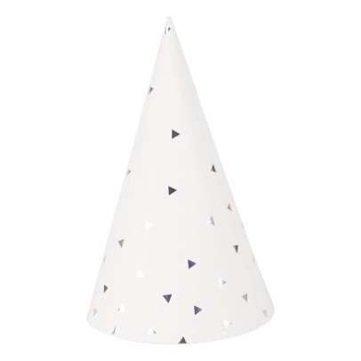 My Little Day Metallic triangle Hats - Set of 8-product