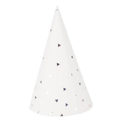 My Little Day Sombreros puntiagudos triángulos metalizados - Lote de 8-listing