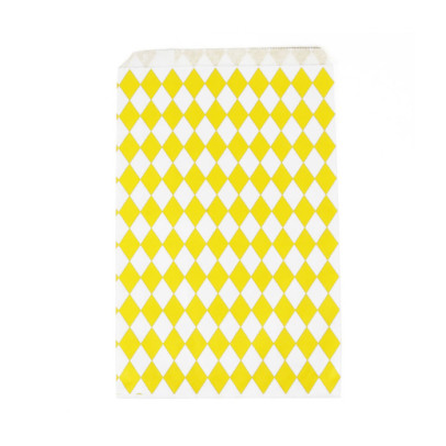 My Little Day Set of 10 envelopes - yellow diamonds-product