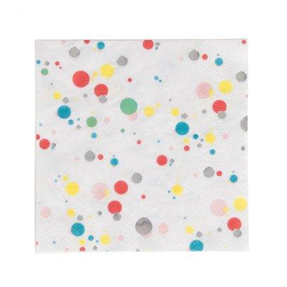 My Little Day Serviettes en papier bulles - Lot de 16-listing