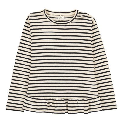 Mads Norgaard  Blouse Marinière Volants Thilkelina Dream-listing