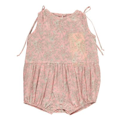 Poppy Rose Miu Floral Liberty Romper-listing
