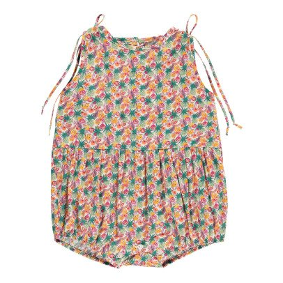 Poppy Rose Barboteuse Liberty Tropical Miu-listing