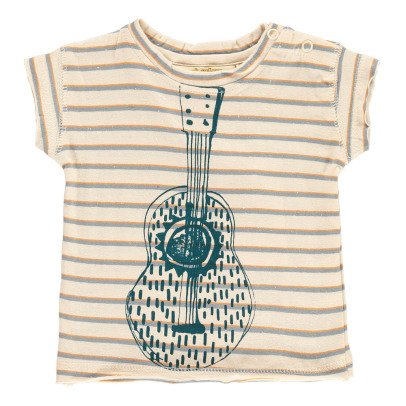 Soft Gallery T-Shirt Righe Chitarra-listing