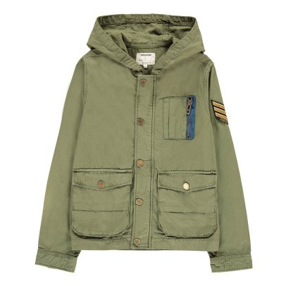 Zadig & Voltaire Charlie Hooded Parka-listing
