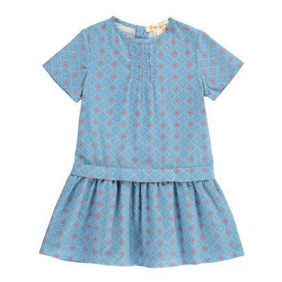 Omibia Kleid aus Bio-Baumwolle Grafik Astrid -listing