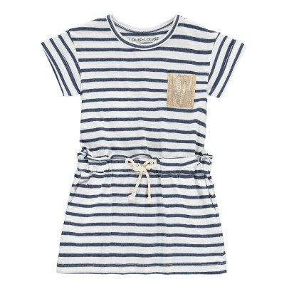 Louis Louise Gestreiftes Kleid aus Jersey Sprint -listing
