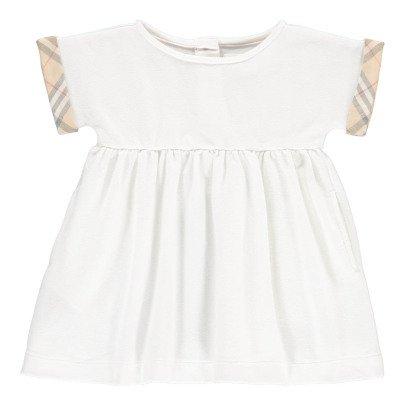 Burberry Vestido Detalle Tartan Jen-listing