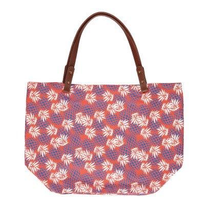 Petite Mendigote Shopper aus Baumwolle Cléa Pineapple -listing