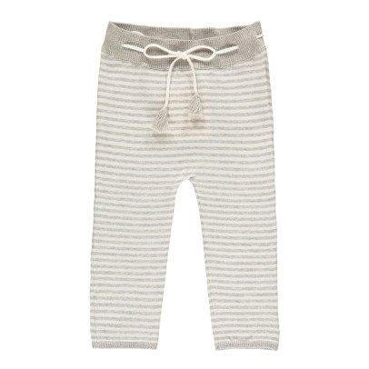 Poppy Rose Dagmar Striped Trousers-listing