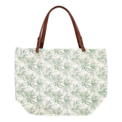 Petite Mendigote Palm Cléa Cotton Shopper-listing