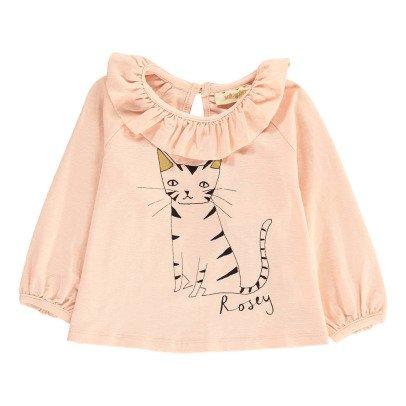 Soft Gallery T-Shirt Cotone organico Volant-listing