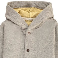 1+ IN THE FAMILY Ignasi Hooded Face Jacket-listing