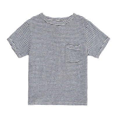 Morley Gestreiftes T-Shirt aus Leinen Fred -listing