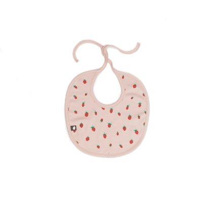 Oeuf NYC Round Strawberry Bib-product