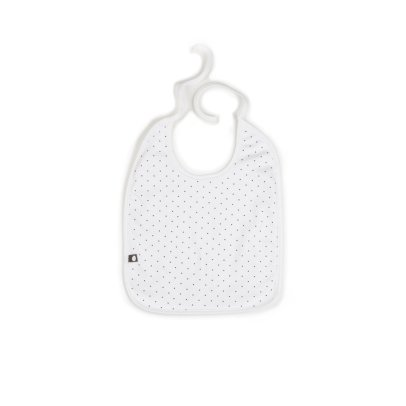 Oeuf NYC Bavoir carré petits pois-product