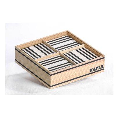 Kapla Coffret Noir et Blanc - 100 planchettes-listing