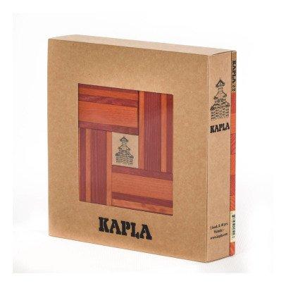Kapla Coffret couleur - 40 planchettes-listing
