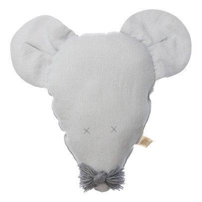 Petit Picotin Cojín Felicie la ratona en lino lavado 28x40cm-listing