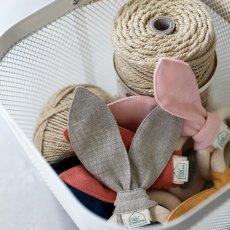 Petit Picotin Sonajero, mordedor lino lavado-listing