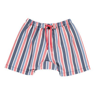 Archimède Swimsuit Striped Swimming Trunks-listing