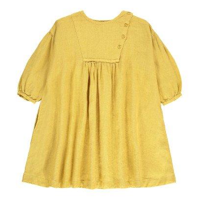 Caramel Vestido Abotonado Lechuga-listing