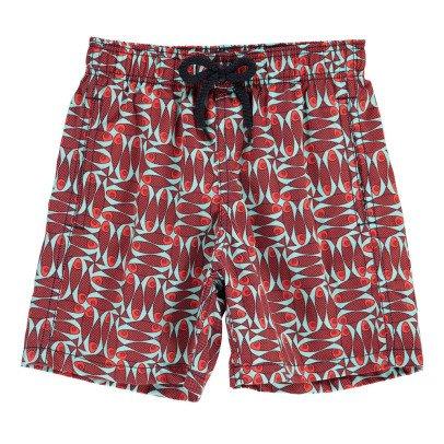 Vilebrequin Shorts da Bagno Pesci-listing