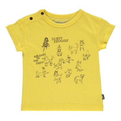 Imps & Elfs T-Shirt Animals Party in cotone Bio-listing