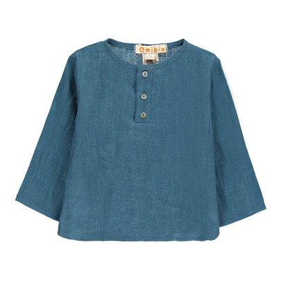 Omibia Camisa Lino Azul-listing