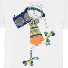 Little Marc Jacobs T-Shirt Mr Marc Rollers -listing