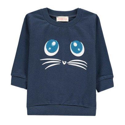 Simple Kids Sweatshirt Katze Miauw-listing