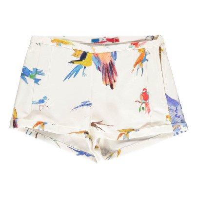 G.KERO Short Allover Oiseaux-listing