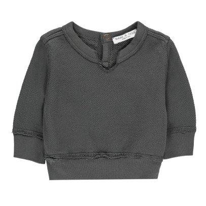 Babe & Tess V-Neck Sweatshirt-listing
