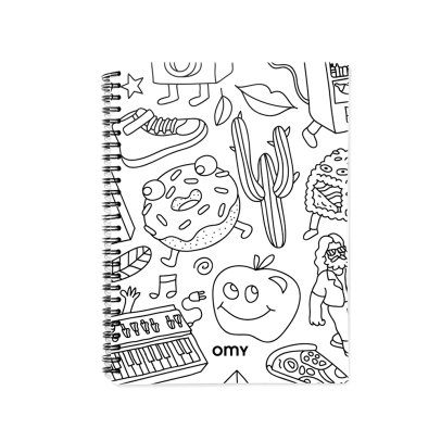 Omy Libreta de espirales-listing