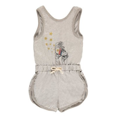 Louis Louise Basket Roller Fleece Playsuit-product