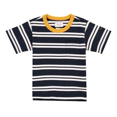 ARCH & LINE Camiseta Rayas Marino-listing
