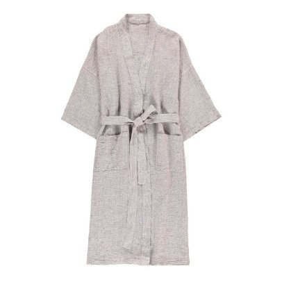 Linge Particulier Striped Linen Kimono-product