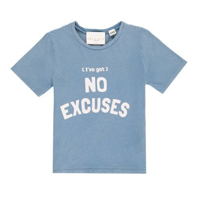 "UNE FILLE today I am ""No Excuses"" T-Shirt -listing"