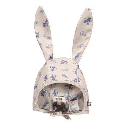 Oeuf NYC Babymütze mit Hasenohren aus Pima Bio-Baumwolle -listing