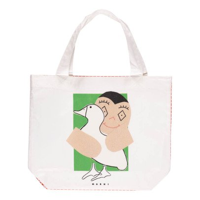 Marni Vichy Mini Canvas Bag-listing