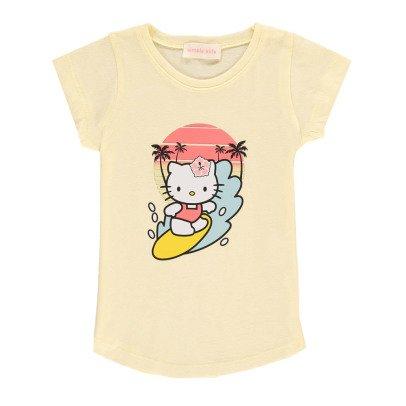 Simple Kids Kitty Surf T-Shirt-listing