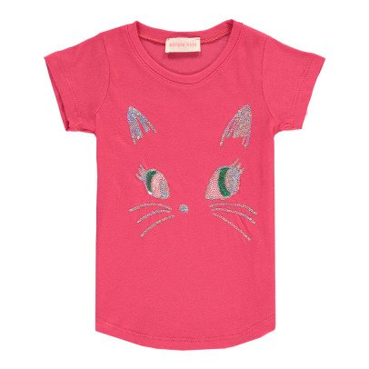 Simple Kids Camiseta Gato Lentejuelas Puss-listing